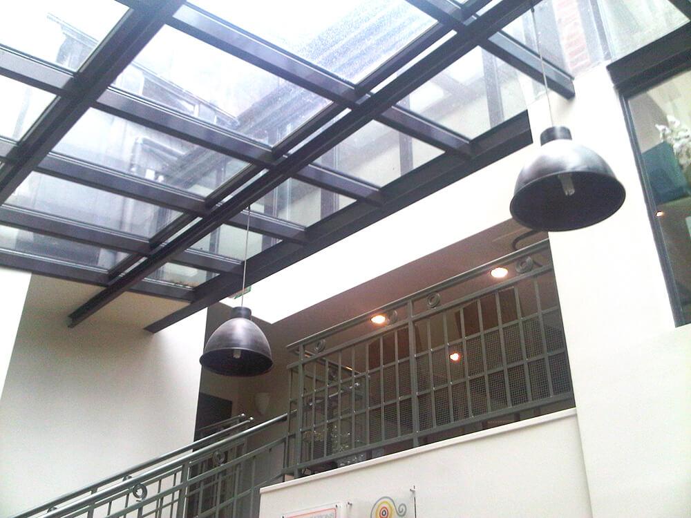 75006 Paris- Fenêtres et véranda en aluminium laqué